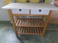 Kitchen/garden cart.