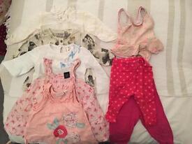 Baby girls cloths 13piece bundle 6-9m/6-12m