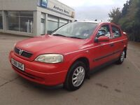 Vauxhall Astra 1.6 i Club 5dr (a/c) Great Runner, 495 Ono