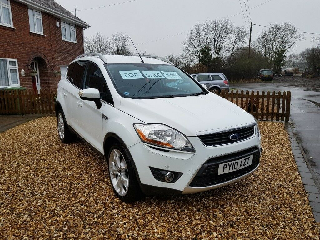 ford kuga titanium tdci 2010 white in bedworth warwickshire gumtree. Black Bedroom Furniture Sets. Home Design Ideas