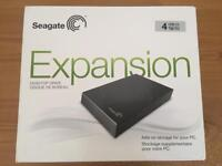Seagate Expansion 4TB USB 3.0 External Hard Drive