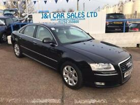 AUDI A8 3.0 TDI QUATTRO SE 4d AUTO 229 BHP A GREAT EXAMPLE INSIDE AND OUT (black) 2008