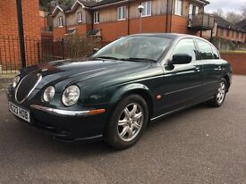JAGUAR 3.0 S TYPE V6 AUTO GREEN PEARLESCENT PAINT PX WELCOME