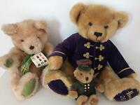 3 Harrods Teddies.