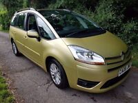 2008 CITROEN C4 PICASSO 7 VTR+ 7 SEATER IDEAL FAMILY CAR CLEAN CAR THROUGHOUT
