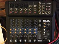 Alto ZMX122fx mixer with effects