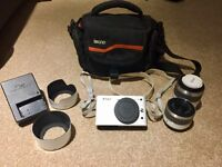 NIKON 1 J1 with 2 lenses and case