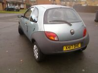 FORD KA VERY GOOD CONDITION AND RELIABLE, MOT STILL OCT 2018