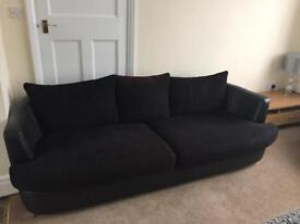 Sofa & large cuddle chair for sale £130