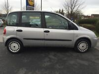 fiat multipla dynamic 1.9 T diesel 2005 silver 6 seater just ad new full clutch fitted full history