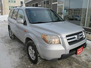 2008 honda pilot LX NAV BACKUP CAMERA 8 seater AWD SUV $8495