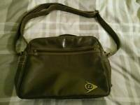 ** Leather Shoulder Bag **