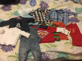 Boys 0-3 baby cloths big bundle