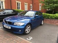 BMW 1 Series 120i Sport Hatch 5dr 2l Great condition LONG MOT Will accept offers