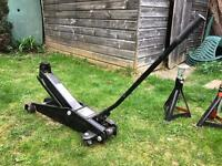2.25 Tonne car jack and axle stands - speedy lift