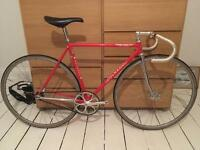 Colnago Super Pista FCI Columbus SL Cromor tubing track bike fixed gear bicycle fixie pista