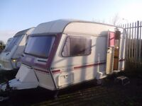 Caravan for sale (with awning) £650 ono