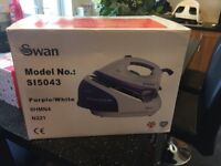 NEW SWAN STEAM GENERATOR IRON 2300 watts 90g/min STEAM output FREE DELIVERY NON-DRIP VARIABLE TEMP