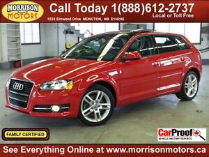 2012 Audi A3 2.0T Progressiv, Leather, Sunroofs