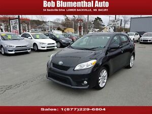 2012 Toyota Matrix XRS w/ 5-Spd Bluetooth RARE Financing Avail