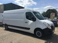 VAUXHALL MOVANO F3500 L3H2 CDTI100 LWB HIGH TOP YEAR 2012 FSH AND VGC IN AND OUT, DRIVES LIKE NEW