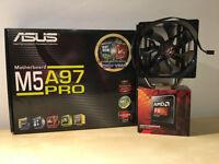 AMD FX8350 + ASUS M5A97PRO + Cooler Master H412 BUNDLE
