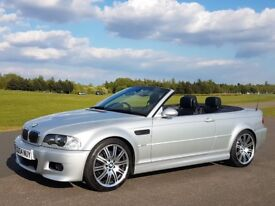 BMW E46 M3 Convertible - Titanum Silver 89K FSH - Manual