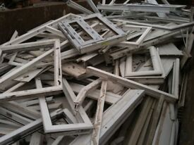 Windows and Door recycled, £200 or £300