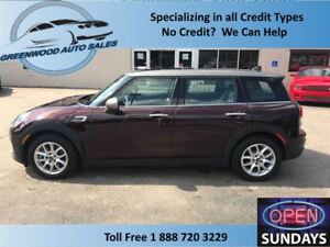2017 MINI Cooper Clubman LEATHER, PANO ROOF, HEATED SEATS, AC CR