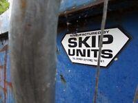 Large Skip for Sale Not Rental (Left Full of general building waste at MK17 0ES)