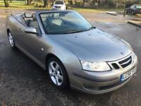2006 SAAB 9-3 CONVERTIBLE ONLY 64000 MILES FROM NEW