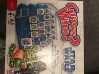 Star Wars Guess Who & Connect 4