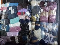 Massive Lot of New Balls of 200gsm Double Knitting Wool