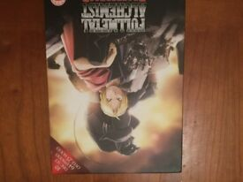 Full metal Alchemist Brotherhood manga dvd
