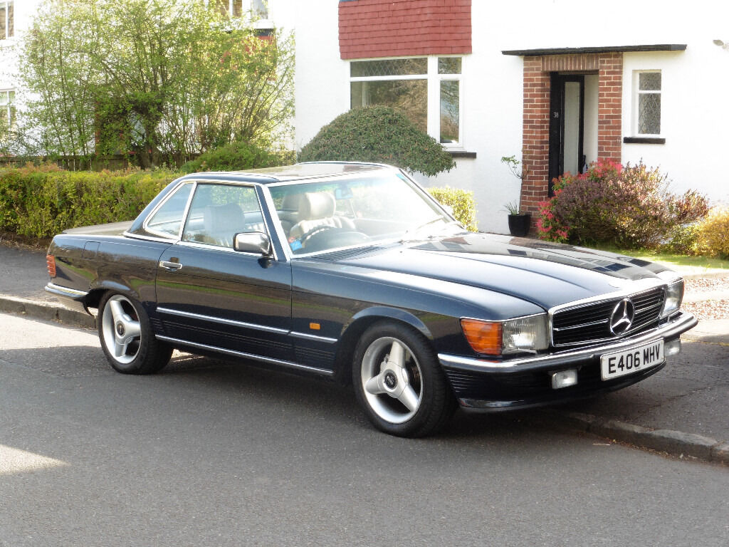 mercedes 500 sl in southside glasgow gumtree. Black Bedroom Furniture Sets. Home Design Ideas