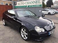 C class 2.1 diesel sport coupe manual. Free warranty. New mot