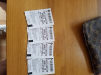 4 x Chessington world of Adventure entry tickets