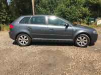 Grey Audi A3 Auto really clean and tidy