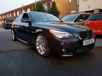 BMW 535D SPORT CARBON BLACK AUTOMATIC 3.0L DIESEL TWIN TURBO HPI CLEAR 2005