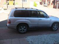 4x4toyota landcruiser amazon diesel auto 03reg 7str £7500