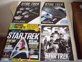 STAR TREK - SPECIAL SFX EDITION 61 / MAGAZINE + EAGLEMOSS ISSUE 1 + SERIES GUIDE