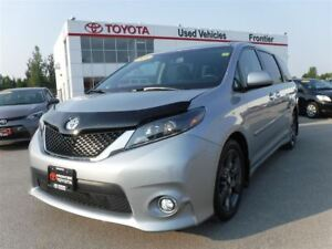 2016 Toyota Sienna SE\2800kms\Back-Up Cam\Leather\Winter Tires