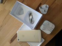 Apple iPhone 6 Gold 64GB Unlocked (as new condition) All accessories included
