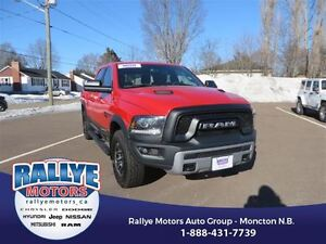 2016 Ram 1500 Rebel! 4x4! Low KMS! Back-Up! Alloy! Leather! Heat