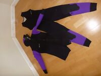 2 piece 5mm Beaver Diving hooded wetsuit; Ladies Small