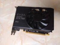 NVIDIA GTX 750 EVGA SC 1215MHz