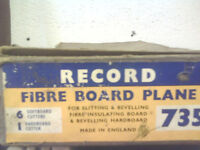 record fibre board plane