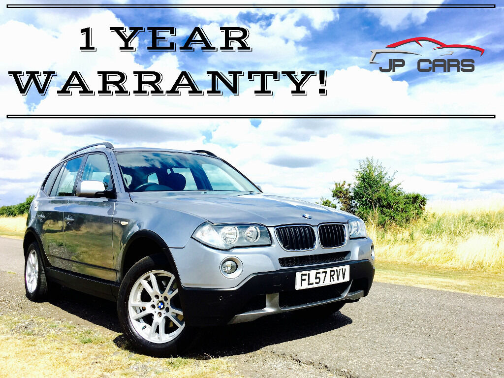 2007 57 bmw x3 2 0d diesel se grey facelift model fsh new mot in gravesend kent gumtree. Black Bedroom Furniture Sets. Home Design Ideas