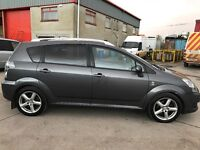 08 TOYOTA COROLLA VERSO 2.2 D4D T SPIRIT 7 SEATER P/EX WELCOME