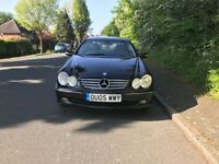 Automatic Mercedes CLK 320 elegance for sale, new MOT, full service history, drives perfect.